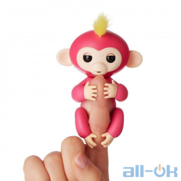 Обезьянка Pets Happy Monkey Pink