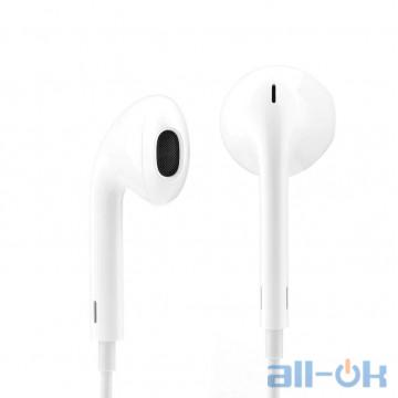 Наушники с микрофоном Apple EarPods with Mic (MNHF2ZM/A) 99% Original