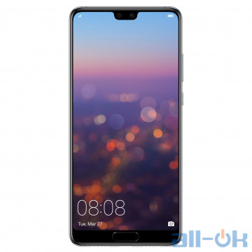 Huawei P20 4/128GB Single SIM Black (51092GYC) Global Version