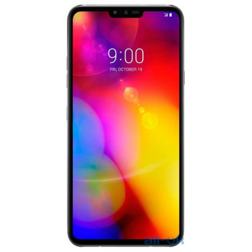 LG V40 ThinQ 6/128GB Dual SIM Platinum Gray