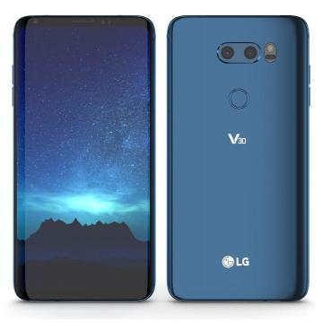 LG V30 plus 128GB Blue H930DS.ACISBL