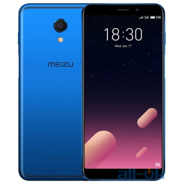 Meizu M6s 3/64GB Blue Global Version