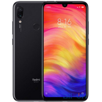 Xiaomi Redmi Note 7 4/128GB Black UA UCRF