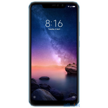 Xiaomi Redmi Note 6 Pro 4/64Gb Blue Global Version