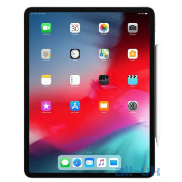 Apple iPad Pro 12.9 2018 Wi-Fi 64GB Silver (MTEM2)