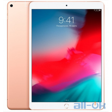 Apple iPad Air 2019 Wi-Fi 256GB Gold (MUUT2)