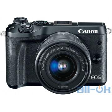 Бездзеркальний фотоаппарат Canon EOS M6 kit (15-45mm)