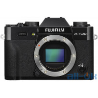 Беззеркальный фотоаппарат Fujifilm X-T20 black body