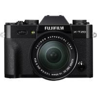 Беззеркальный фотоаппарат Fujifilm X-T20 kit (16-50mm) black