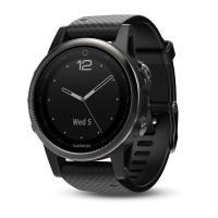 Смарт-часы GARMIN Fenix 5S Sapphire with Black Band  (010-01685-11)