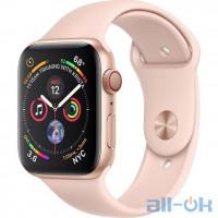 Apple Watch Series 4 GPS 44mm Gold Alum. w. Pink Sand Sport b. Gold Alum. (MU6F2)