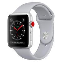 Apple Watch Series 3 GPS + Cellular 42mm Silver Aluminum w. Fog Sport B. (MQK12)